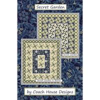 e97ccd485c79 Secret Garden Quilt Pattern by Coach House Designs