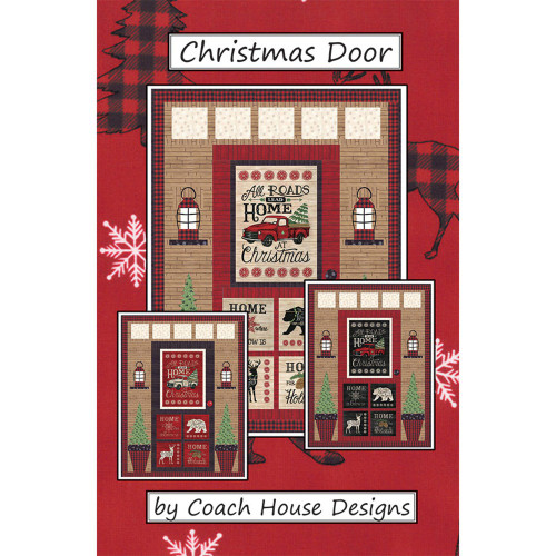 Christmas Door.Christmas Door Quilt Pattern By Coach House Designs