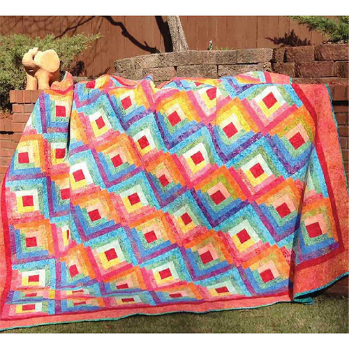 Fit For A King Quilt Pattern By Cut Loose Press Pattern