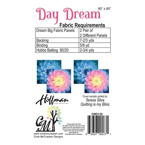 Day Dream Quilt Pattern by Cindi McCracken Designsusing Dream Big by  Hoffman Fabrics