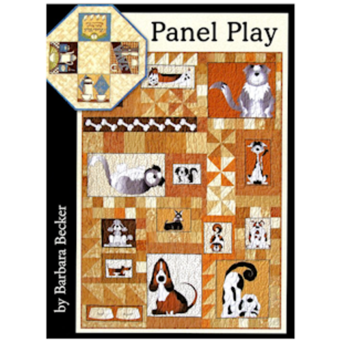 Panel Play Quilt Book By Barbara Becker And Cozy Quilt