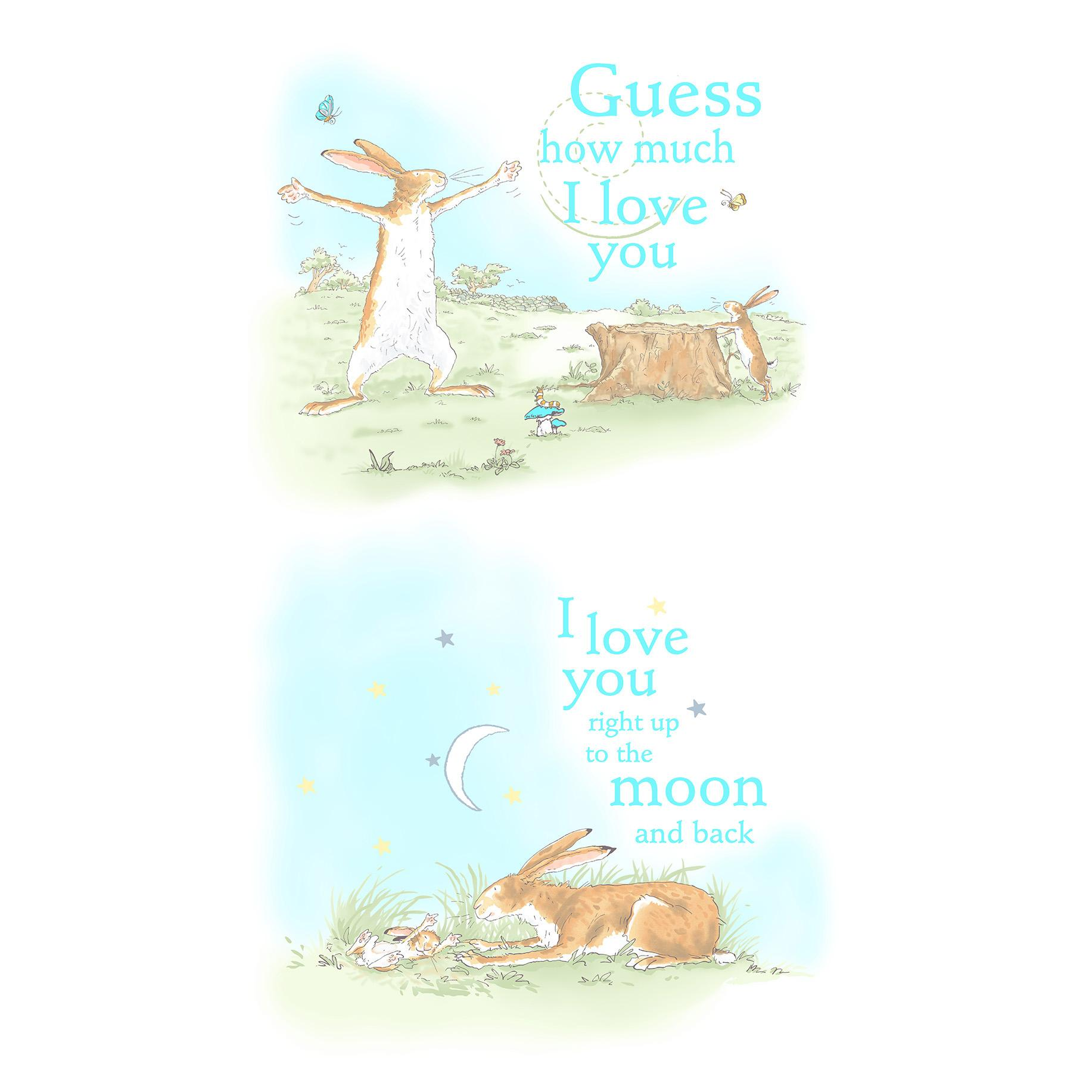 Clothworks Guess How Much I Love You 2018 White Book Cover ...