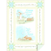 Clothworks Guess How Much I Love You 2018 Baby Elegance Quilt Kit 41