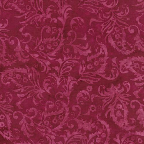 Island Batik Gypsy Rose Paisley Floral Pomegranate Quilt