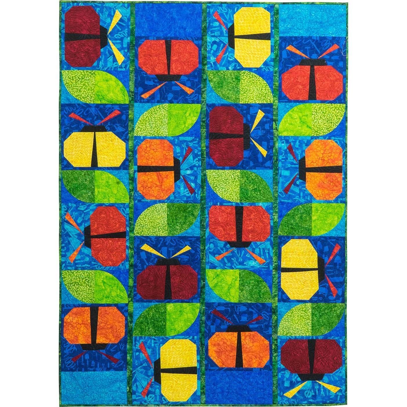 Garden Party Colour Bug Quilt Kit