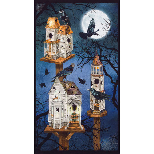 Robert Kaufman Fabrics Raven Moon Spooky Ravens And