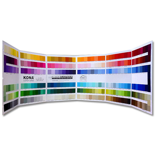 Robert Kaufman Kona Cotton Color Card