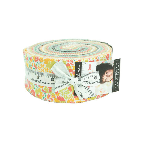 Moda Strawberry Jam Jelly Roll 42 Pc Fabric Strip