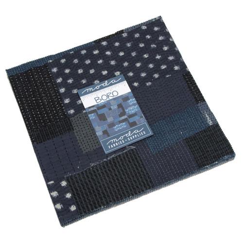 Moda Fabrics Boro Layer Cake Fabric Square 10 Inch
