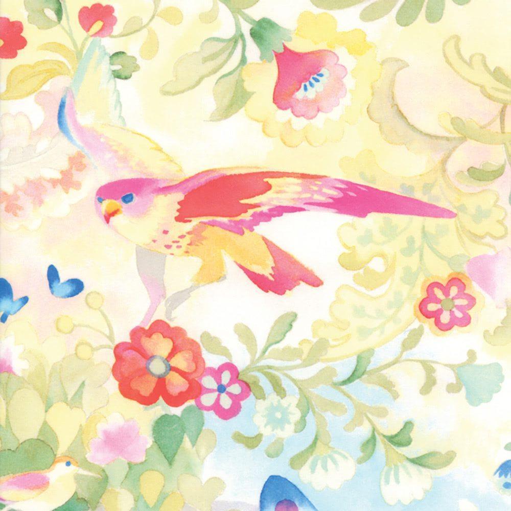 Moda Flights of Fancy by Momo 33463 11 White Birds OTTON