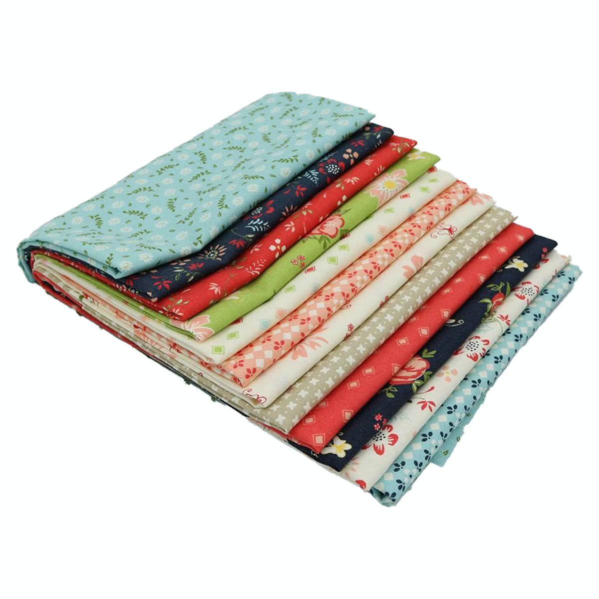 HEDGEHOGS Fabric Fat Quarter Cotton Craft Quilting MODA