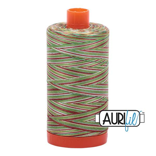 Aurifil Cotton Mako Thread 50 Weight 1422 Yards Leaves