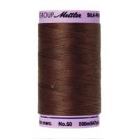 4f1be46f8c2 Mettler 50 Weight Silk Finish Cotton Thread 547 yards Friar Brown