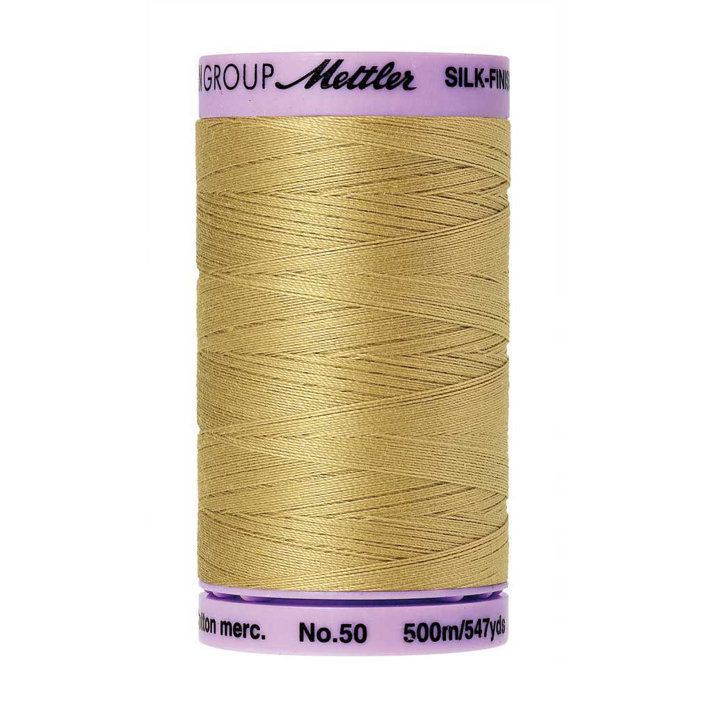 Navy Blue Mettler  9104-0825 Cotton Thread 50wt silk finish 547yds