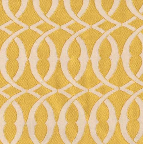 P Kaufmann Fabrics Line Drawing Canary Yellow Woven