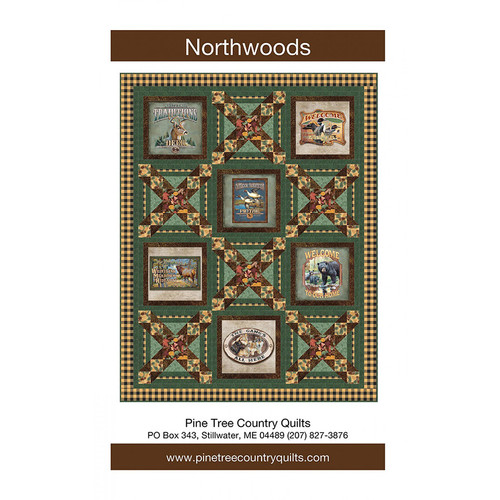 Northwoods Quilt Pattern By Pine Tree Country Quilts Pattern