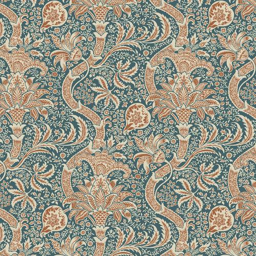 Free Spirit William Morris Montagu Indian Forest Quilt