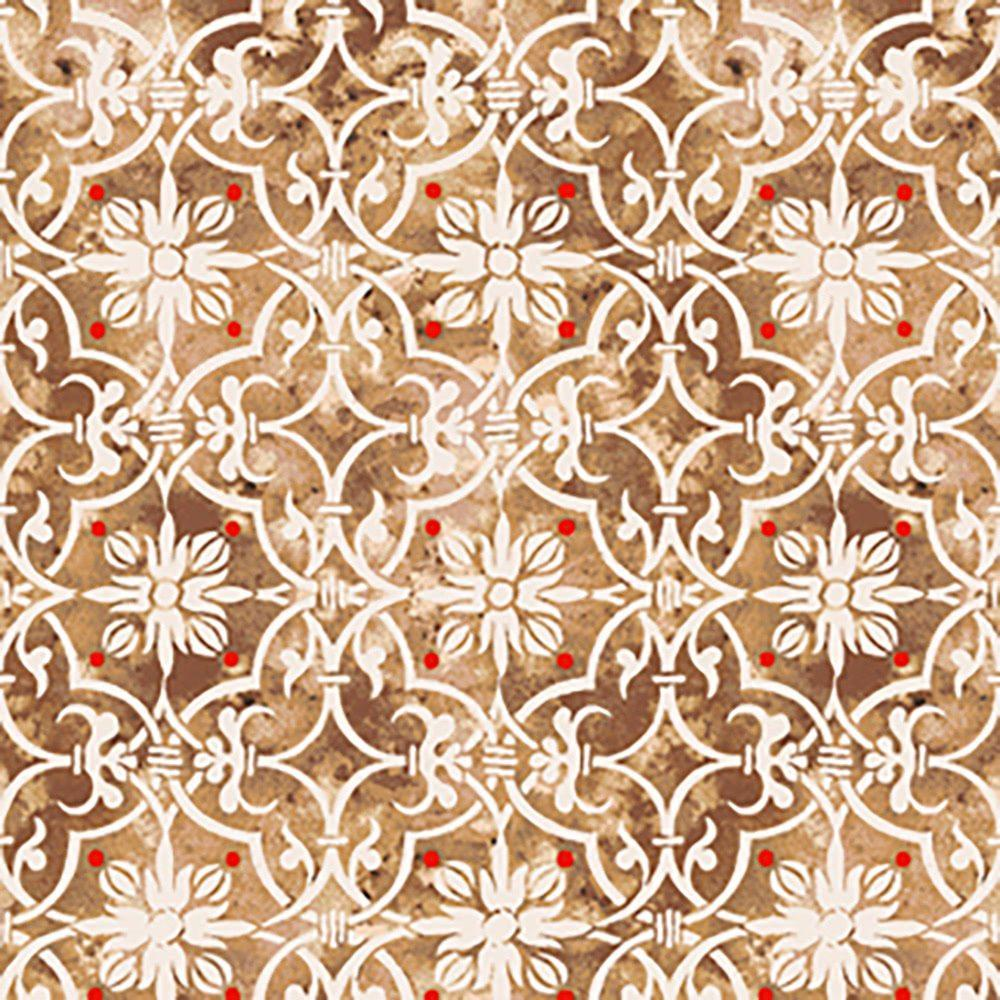 Fruity Friends Fabric by Makower #920-P3 Premium Cotton
