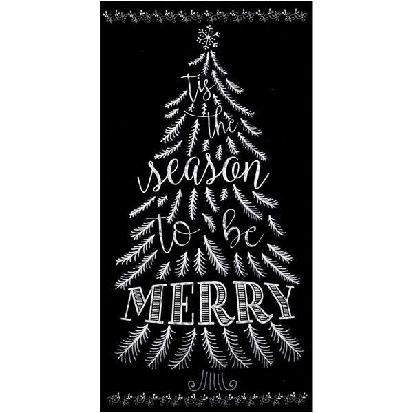 Christmas Chalkboard.Details About Timeless Treasures Fabrics Christmas Chalkboard 24 In Tree Panel