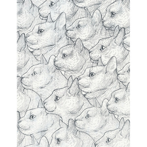 Feline Friends Quilting Fabric