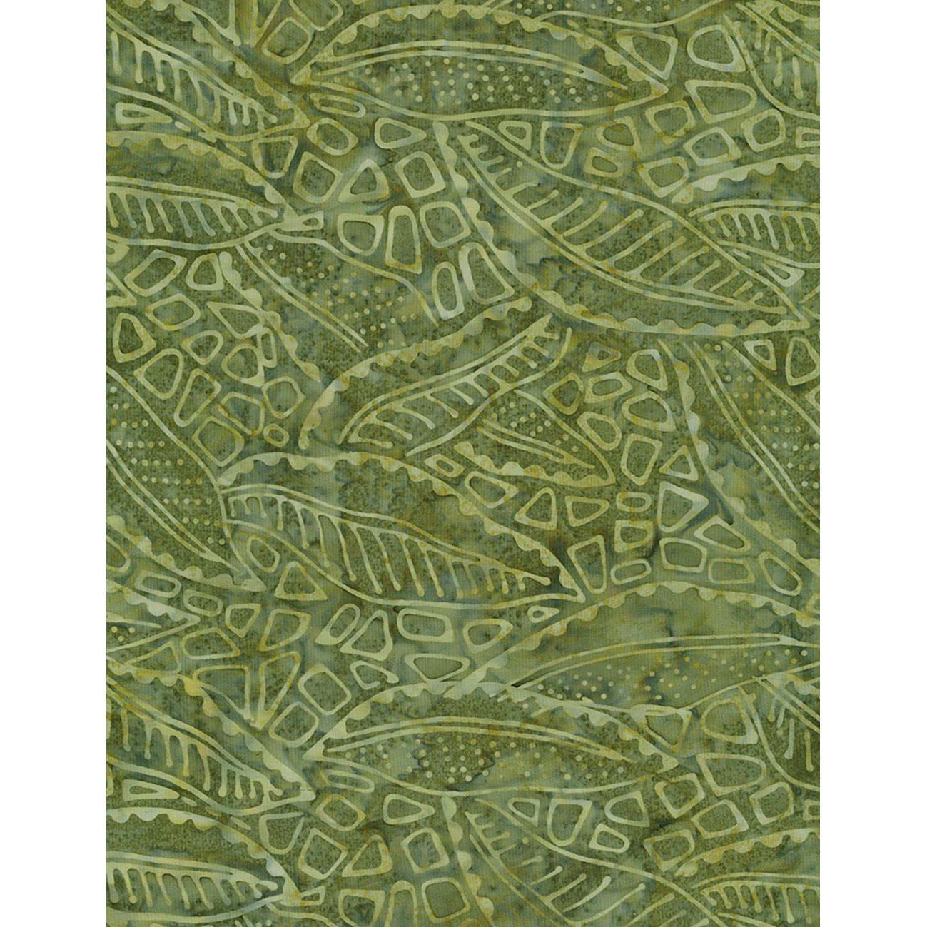 1.875 yards; Timeless Treasures; Tonga Lush; Wing and a Prayer; Lush BOTM Paisley Batik Fabric; B6203-Lush; Last piece