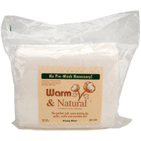 Warm & Natural King Size Quilt Batt