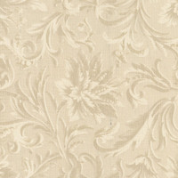 Windham Quilt Back Cream Acanthus Damask 108 Inch