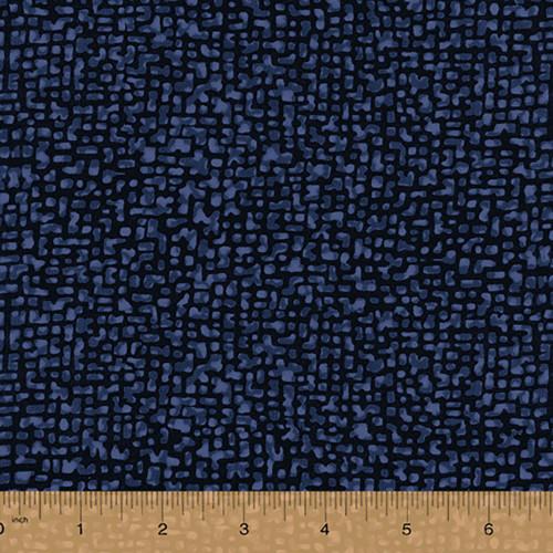 Windham Fabrics 108 Inch Quilt Back Bedrock Indigo Quilt