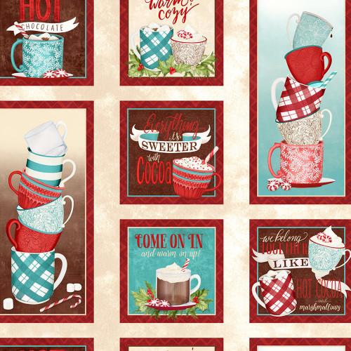 Wilmington Prints Cuppa Cocoa Danielle Leone Multi Craft