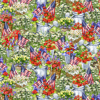 Timeless Treasures Patriotic Fabrics