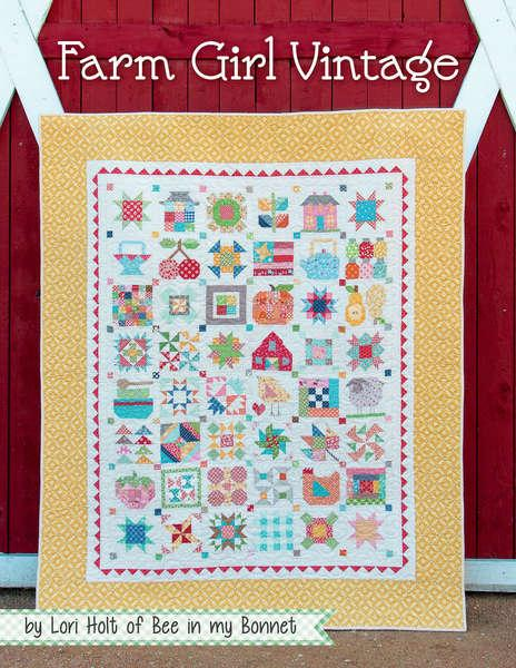 Farm Girl Vintage Quilt Pattern Book by It's Sew Emma | Book ... : vintage quilt designs - Adamdwight.com