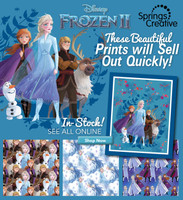 Disney Frozen Fabric